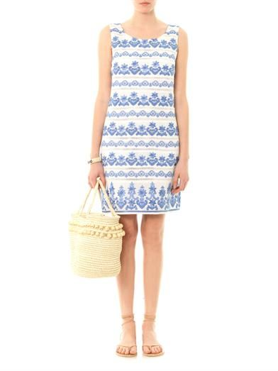 Collette by Collette Dinnigan Bora Bora embroidered shift dress