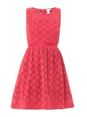 Fields of daisy lace dress