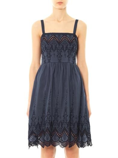 Collette by Collette Dinnigan Ibiza embroidered lace dress