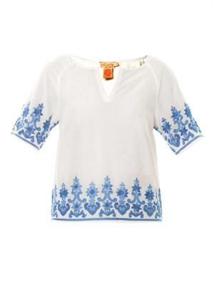 Bora Bora embroidered top