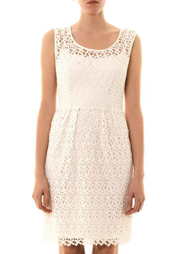 Collette by Collette Dinnigan Daisy chain lace dress