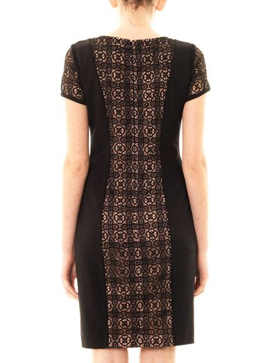 Collette by Collette Dinnigan Grenada lace panel dress