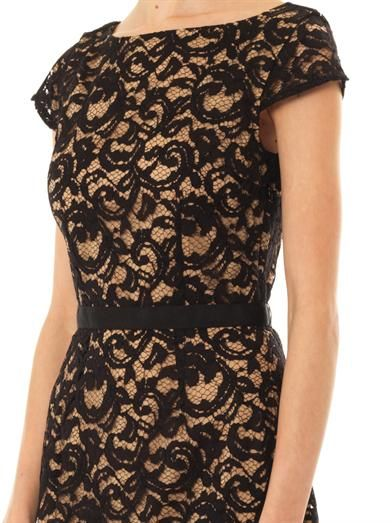 Collette by Collette Dinnigan Corded lace dress
