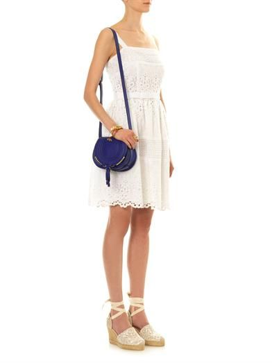 Collette by Collette Dinnigan White Garden Shoestring dress