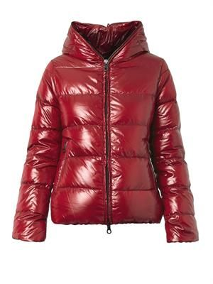 Thiacinque quilted down jacket
