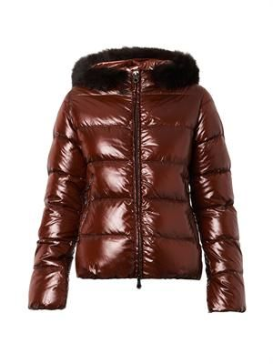 Adhara quilted down jacket