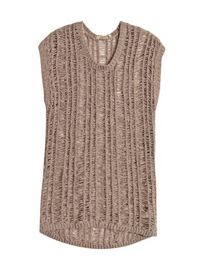 J Brand Greta ladder-knit sweater