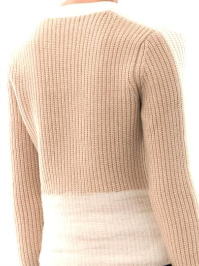J Brand Itani felted band sweater