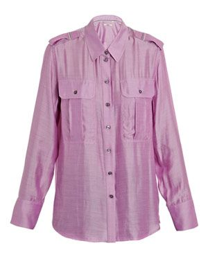 Monae chambray shirt