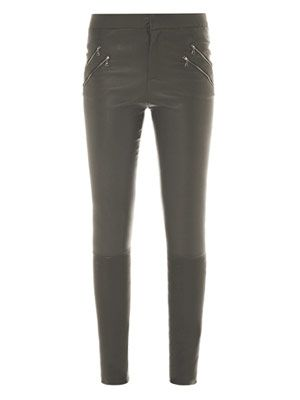 Claudette skinny leather trousers
