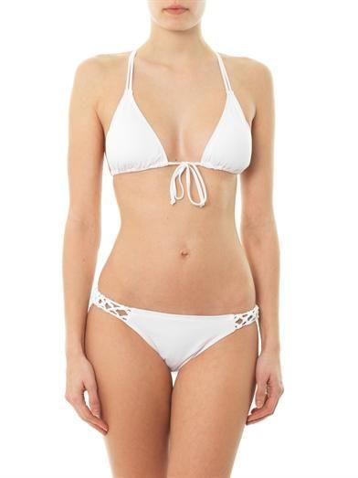 L*Space Forget-me-knot bikini briefs
