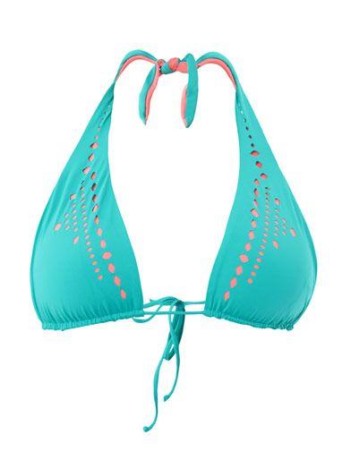 L*Space Mystique halterneck bikini top