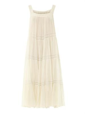 Imany cotton-voile maxi dress