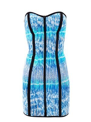 X Peter Pilotto Leigh scuba dress