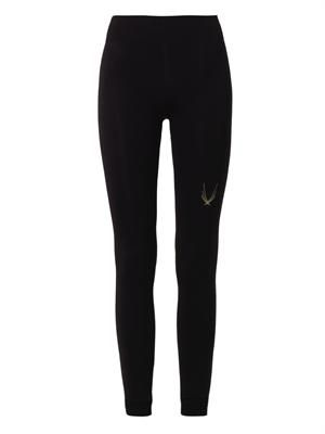 Technical knit performance leggings