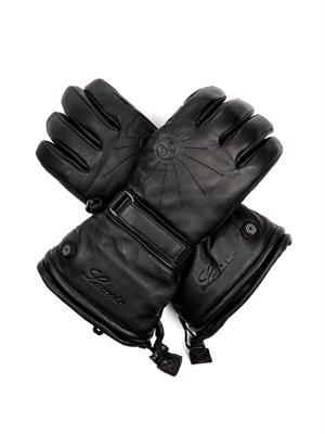 Leather heating E-gloves