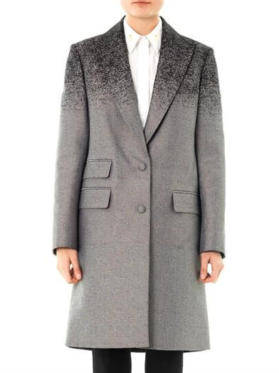 Alexander Wang Degradé single-breasted coat