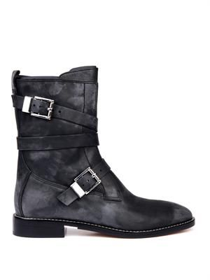 Louise leather ankle boots