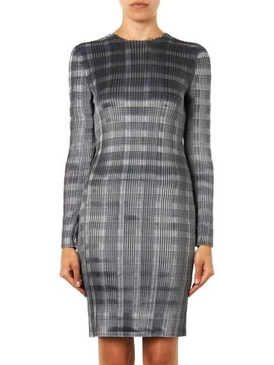 Alexander Wang Technical-pleat pinstripe dress