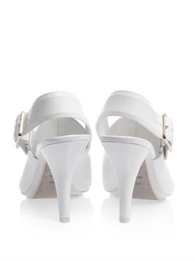 Alexander Wang Kati peroxide slingback shoes