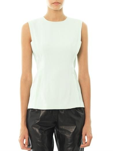 Alexander Wang Crepe side panel blouse