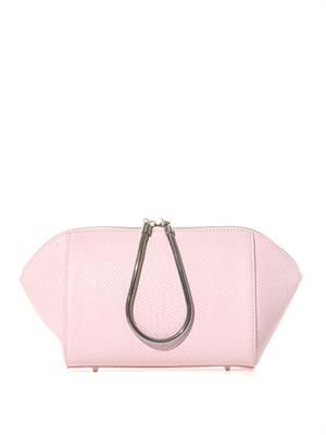 Chastity leather clutch
