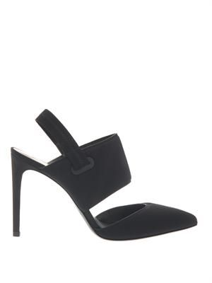 Karen neoprene pumps