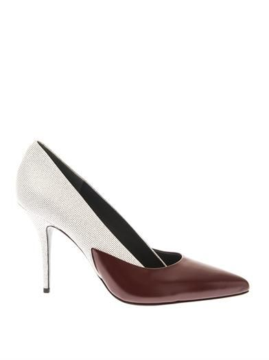 Alexander Wang Cicely bi-colour pumps