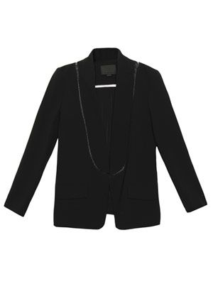 Fish wire detail blazer