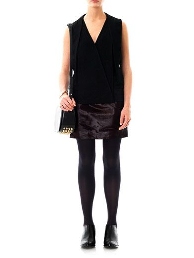 Alexander Wang Pony hair mini skirt