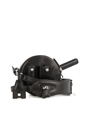 Canteen leather cross-body bag