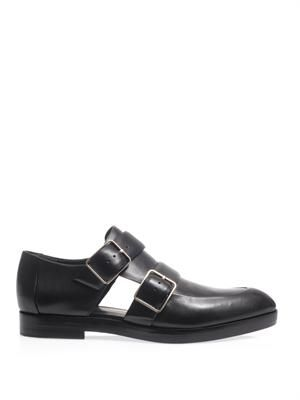 Jacquetta monk strap Oxford shoes