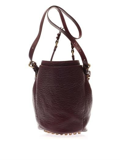 Alexander Wang Diego textured-leather bucket bag