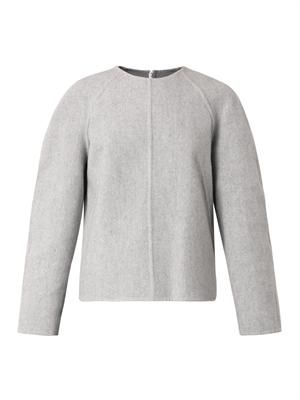Structured cashmere sweater