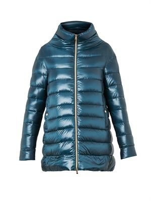 Ultralight quilted down coat
