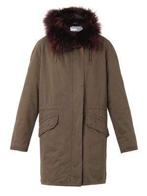 Classic fur-lined parka