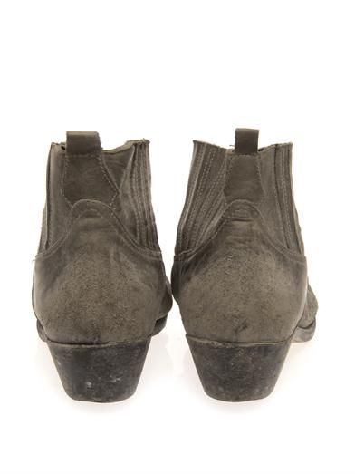 Golden Goose Deluxe Brand Crosby distressed cowboy boots