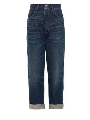 GOLDEN GOOSE DELUXE BRAND Kim high-rise boyfriend jeans