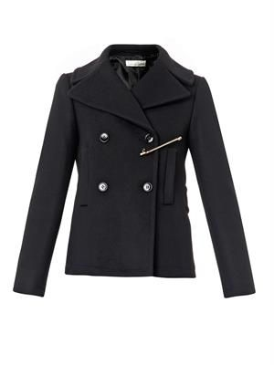 Jason wool-blend pea coat