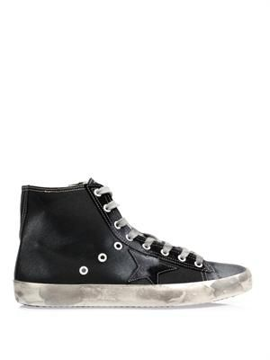 Francy canvas high top trainers