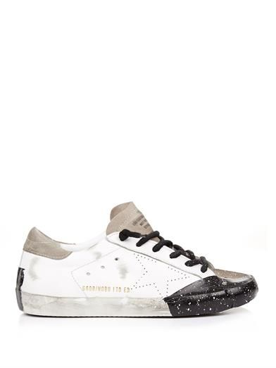 Golden Goose Deluxe Brand Superstar low-top leather trainers
