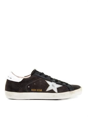 Superstar low-top suede trainers