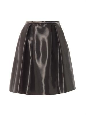 Liquid-satin full skirt