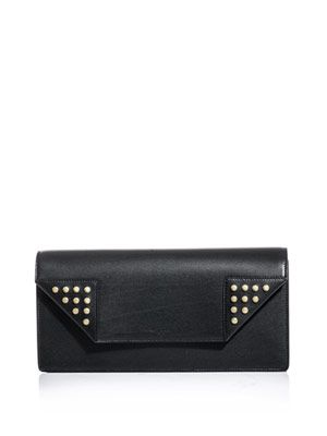 The Betty leather studded clutch