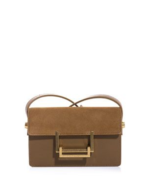 LuLu leather shoulder bag