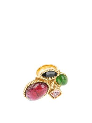 Arty gold plated ring