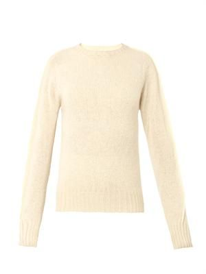 Wool-knit sweater