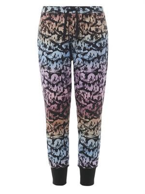 X Natasha Khan palm-print track pants