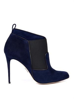 Beauford suede ankle boots