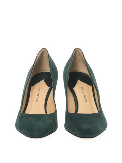 Paul Andrew Claire suede pumps